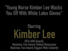 Young Nurse Kimber Lee Wacks You Off With White Latex Gloves Thumb