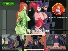 Gotham City Sluts ep 2 Harley Quinn gets a root Thumb