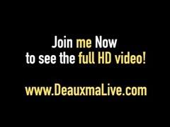 Hot Horny Cougar Deauxma Bangs Newbie Big Dick Keiran Lee! Thumb