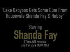 Lake Osoyoos Gets Some Cum From Housewife Shanda Fay & Hubby Thumb