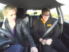 Fake Driving School Instructor creampies hot sexually frustrated redhead Thumb