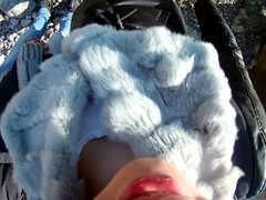 PUBLIC FPOV BLOWJOB - ROMANTIC WALK : FEMALE POV / FEMALE PERSPECTIVE Thumb