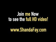 Sexy Wife Shanda Fay Stuffs Her Pussy & Asshole With Panties Thumb