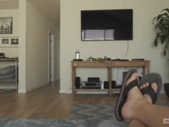 JAY'S POV - Little Sister Swallows Brothers Cum Thumb