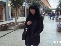 Geile 18 Jährige Katy am Potsdamer Platz Berlin gefickt mit Spermawalk Thumb