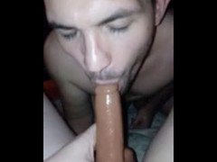 Wishing this black dildo was a real dick Thumb