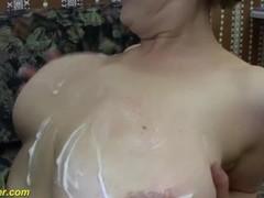 chubby Milf first deep anal sex Thumb