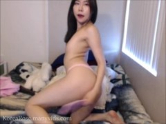Merry X-Mas Cute Korean Camgirl Spank & Cum Thumb