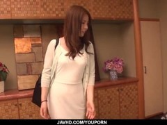 Aya Saito feels excited and aroused along two men  - More at javhd.net Thumb