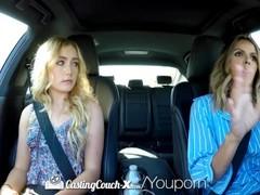 CastingCouch X Newcomer Dakota Bleu fucks casting agent Thumb
