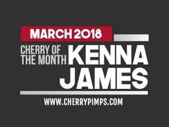 Kenna James Stripteases and Masturbates Thumb