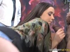 Tiffany Star Fucks Huge Black Dick In Front Of Her Cuckold Fan Thumb