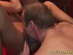 gangbang party with german wild girls Thumb