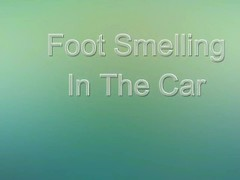 Foot Smelling In The Car (ItalFetish) Thumb