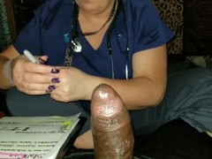 FootJob Stamina Test Done By Nurse Stephanie Thumb