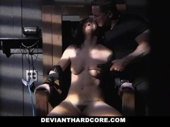 DeviantHardcore -  Submissive Femme Gets Electrocuted And Dominated By Cock Thumb