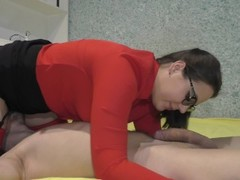 No Hands 69 Blowjob From teacher at home Thumb