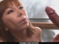 A japanese group sex video with MILF Minami Kitagawa - More at Slurpjp.com Thumb