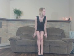 Petite Blonde Casting Couch Audition Huge Cumshot Thumb