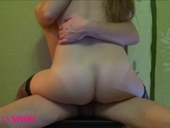 Young girl ride on dick then get hard orgasm Thumb