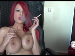 Sexy Sandi Smoking in Bikini Thumb