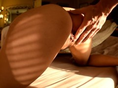 Big Asian ass gets pounded from behind Thumb