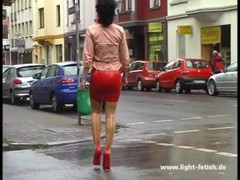 Lady Pantera - latex, leather, corset & high heels - 411 Thumb