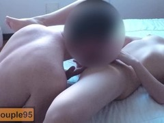 College girl fucks her tinder date and gets an accidental creampie! Thumb