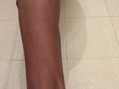 Shaving my hairy pussy - LONG LIPS Thumb