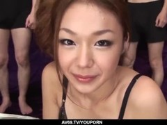Sakura Hirota amazing gangbang in hardcore scenes  - More at 69avs.com Thumb