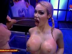 Chessie Kay Piss Covered Massive Tits - 666Bukkake Thumb