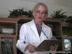 Granny Doctor Examines Cock Thumb