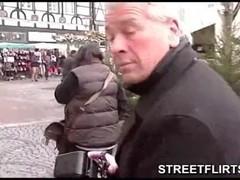 Streetflirts com fake casting agent gets blowjob Thumb