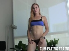 CEI Cum Eating Instructions Jerk Off Instructions Thumb