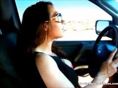 Learning To Drive With Muscle! EroticMuscleVideos Thumb