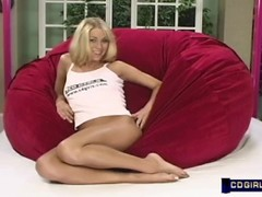 Early Katie Morgan sybian with interview and solo dildo Thumb