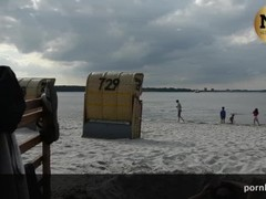 CROWDED BEACH PUBLIC MASTURBATION !!! Thumb