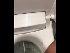 Cleaning water from toilet cumshot Thumb