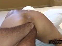 Double anal fisting Brazilian MILF Maria Thumb