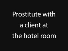 Prostitute with a client at the hotel room with Cathy Crown Thumb