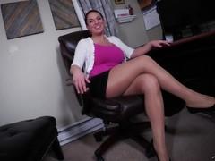 Secretary Edges You -Mallory Sierra FEMDOM POV Thumb