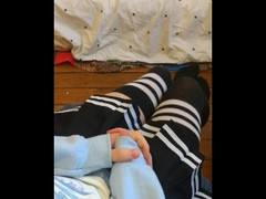 Cute crossdressing femboy shows you how he gets off Thumb