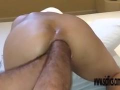 Double anal fisting amateur Brazilian MILF Thumb