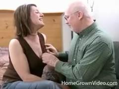 Older Lisa Sucks And Fucks Grandpas Cock Thumb