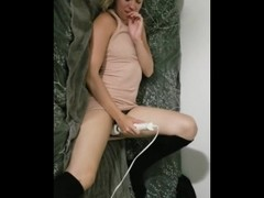 Wife Squirts on Bulls Fingers While Cuckold Husband Films (4th encounter) Thumb