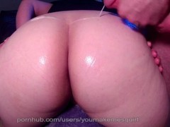MIlf Squirts, takes Cum in mouth, pussy, ass, tits, mouth, complation Thumb