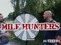 HITZEFREI Tattooed short haired MILF takes a big dick Thumb