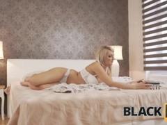 BLACK4K. Katy loves huge cock so demonstrates boy a card trick Thumb