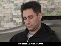 SheWillCheat - Horny Wife Fucks Husbands Partner Thumb