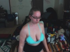 Andi Gets Cyber Fucked on Cam Thumb